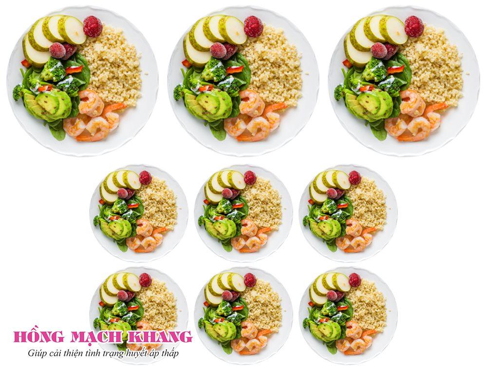 Ăn các bữa nhỏ giúp hạn chế bị chóng mặt sau khi ăn